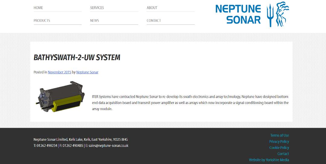 Neptune sonar