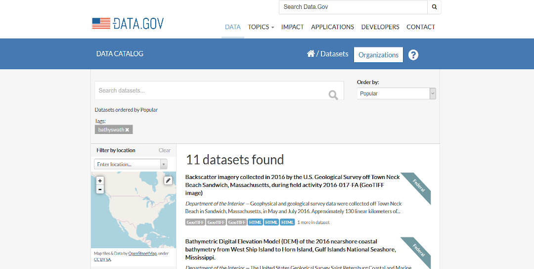 Data Gov USA